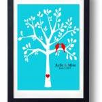 Silhouette Tree Art-Wedding Sign
