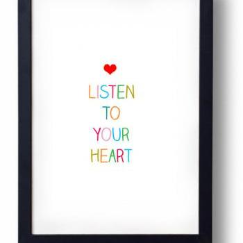 I Love You Gift- Listen to Your Heart
