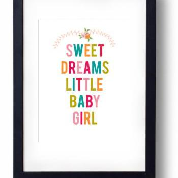 Sweet Dreams Sign- Inspirational Quote-